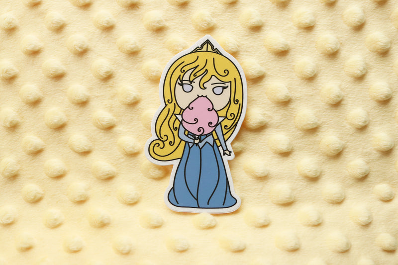 Snacking Princesses Stickers