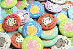 Pile of DnD Alignment Buttons