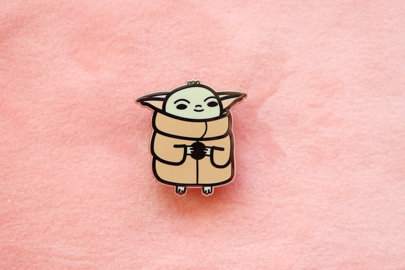 Star Wars The Child Hard Enamel Pin and Sticker