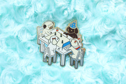 Dungeons and Dogs Enamel Pin