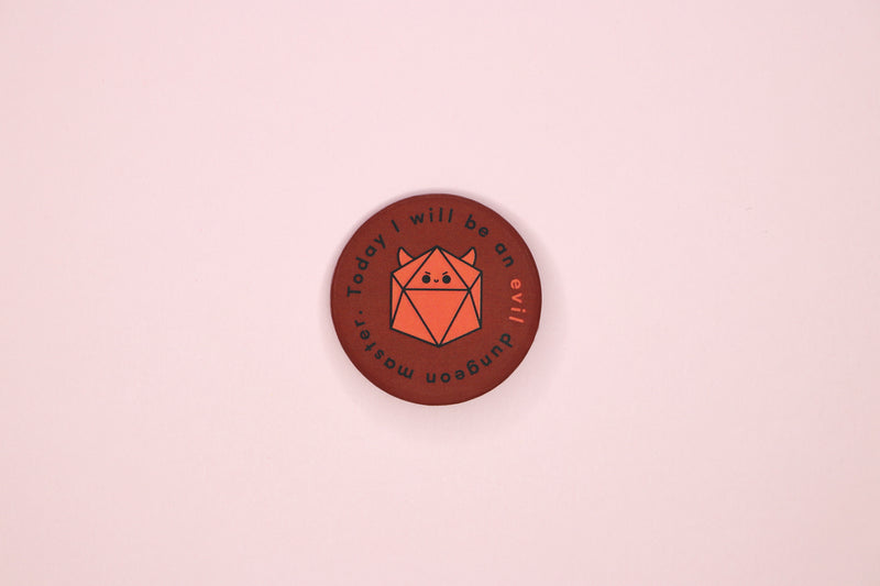 Evil Dungeon Master Button