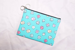 Pastel Tiny Dice Buddies Pouch