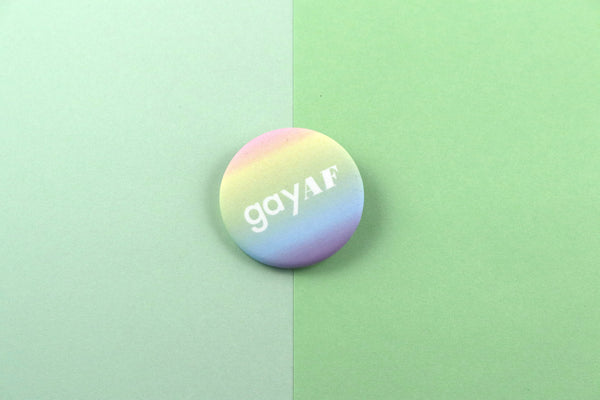 Gay AF Button