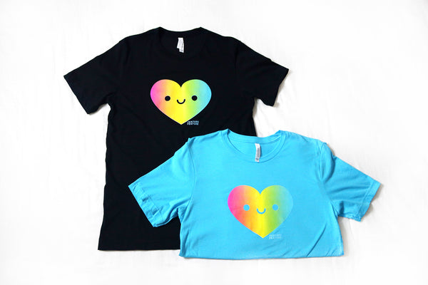 Happy Pride Heart Flag T-shirts