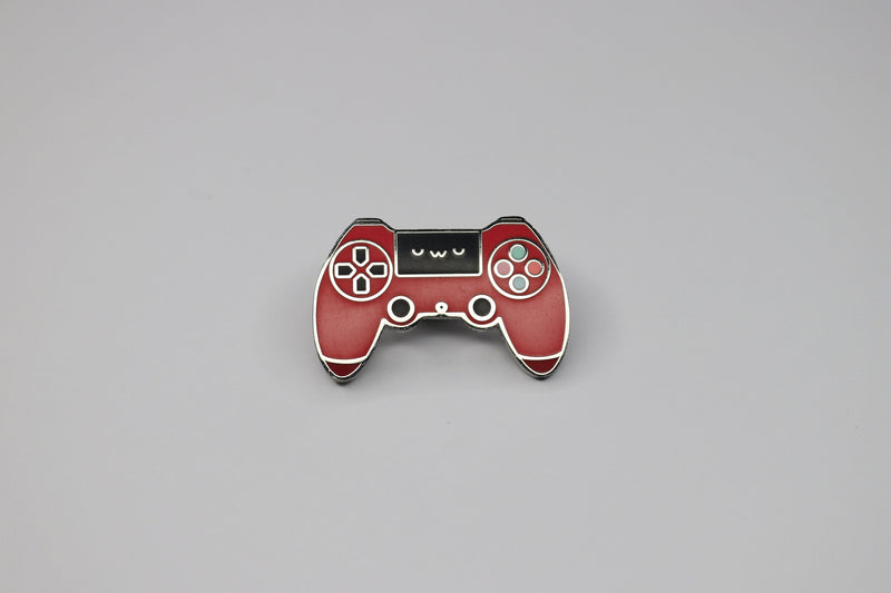 Cute Playstation Controller Hard Enamel Pin