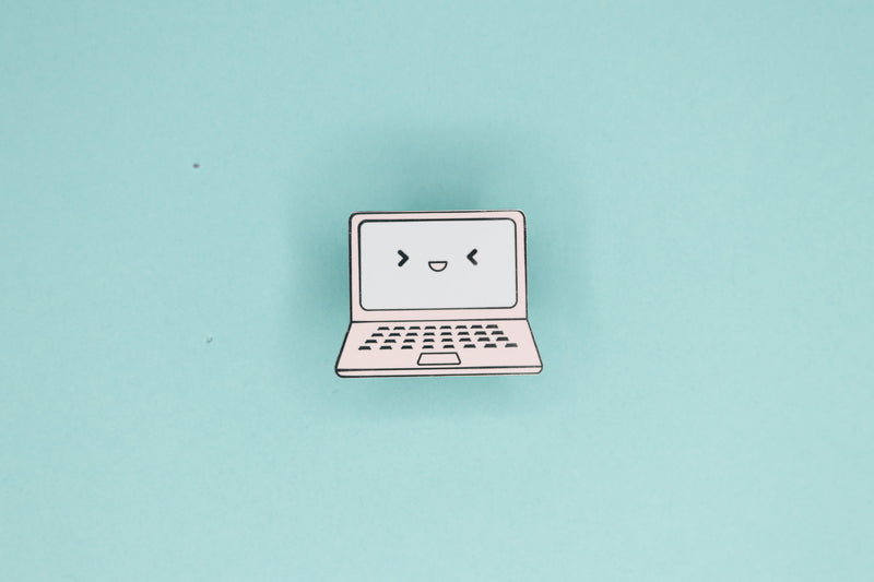 Gaming Laptop Hard Enamel Pin
