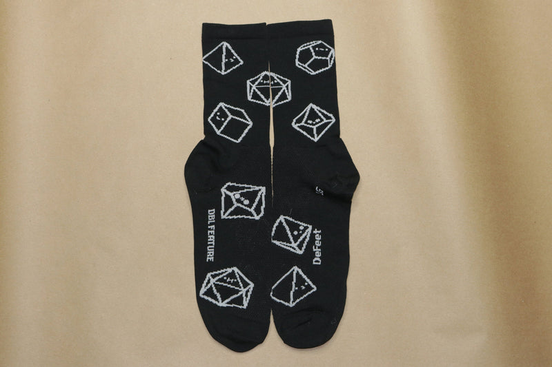 Inside View of Tiny Dice Buddies Socks
