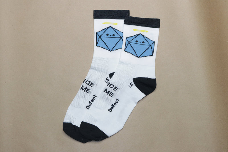 Good Side of The Dice Made Me Do It Socks