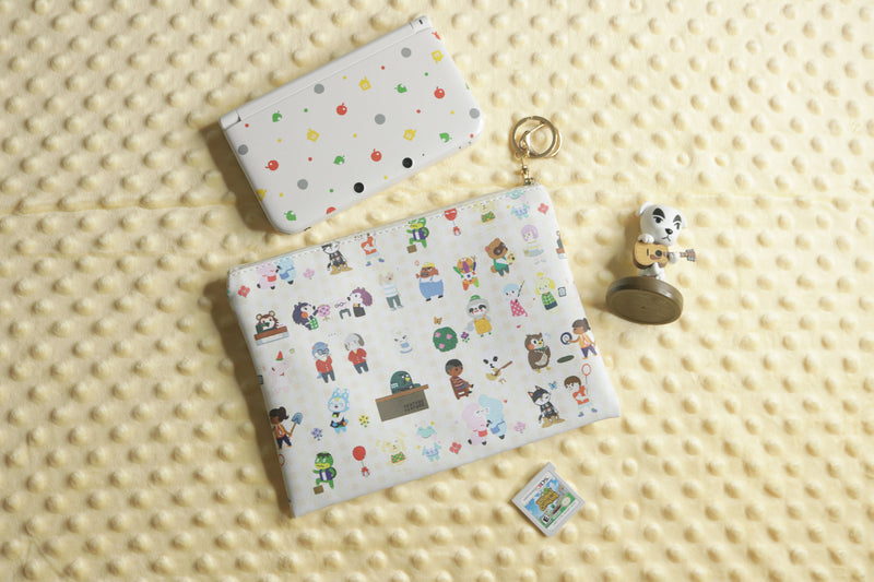 K.K. Slider Amiibo, Animal Crossing Pouch, Limited Edition Animal Crossing New Leaf 3DS, and Happy Home Designer Game Cartridge