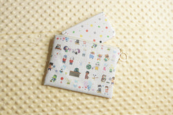 Animal Crossing Pouch Holding a 3DS