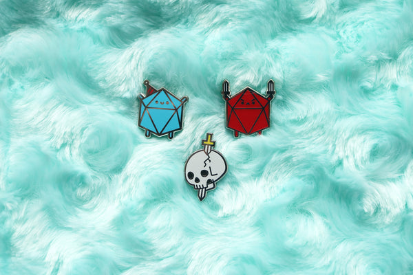 Murder Hobo Mini Pin Set