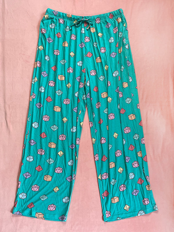 Tiny Dice Pajama Pants Preorder