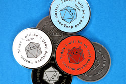 Dungeon Master Alignment Coin
