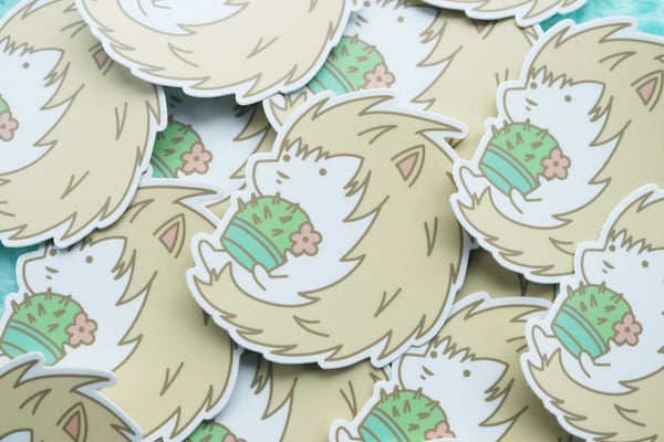 Pile of Hedgehog Stickers