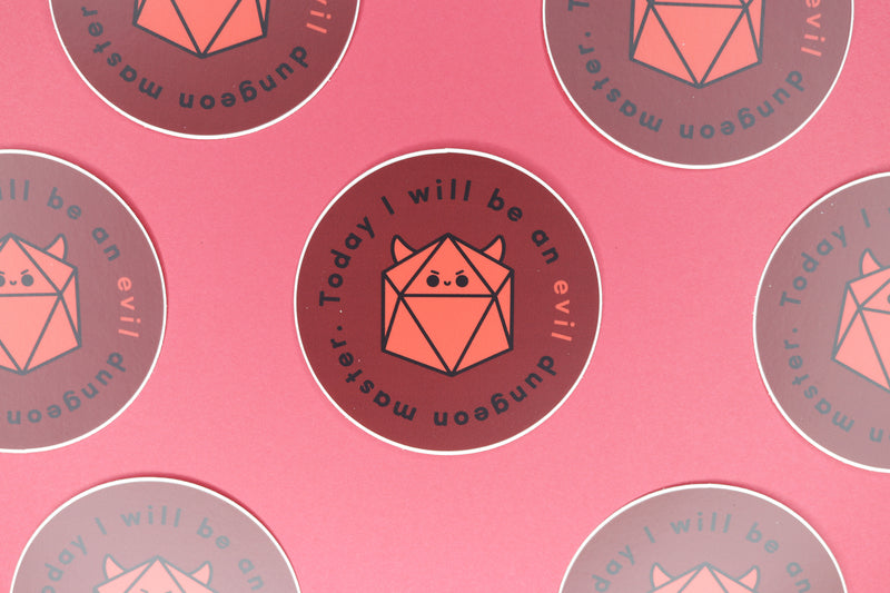 Rows of Evil DM Stickers