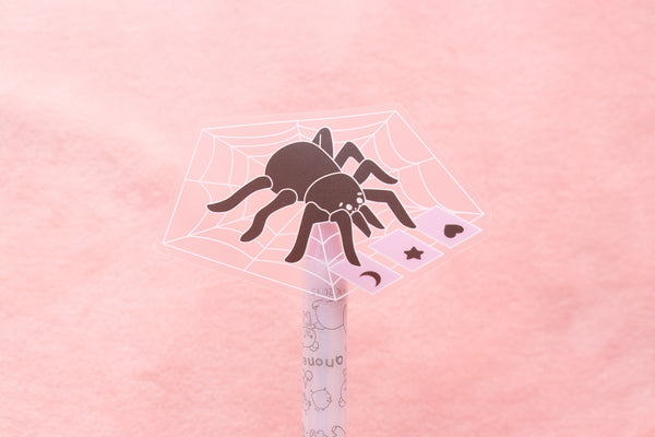 Tarot Tarantula Clear Sticker