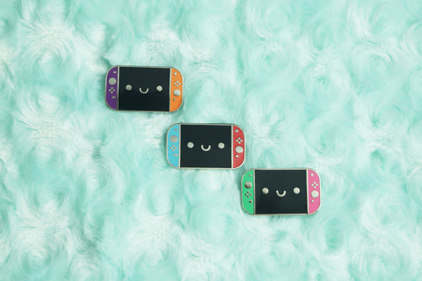 Nintendo Switch Enamel Pins