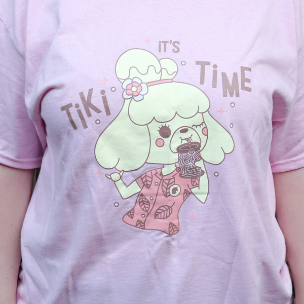 Tiki Time Isabelle Animal Crossing Shirt
