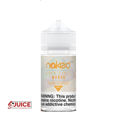Amazing Mango - Naked 100 60ml - E-Liquids | E-juice Clearance