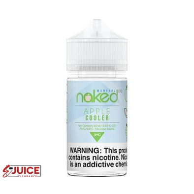 Apple Cooler - Naked 100 Menthol 60ml - E-Liquids | E-juice Clearance
