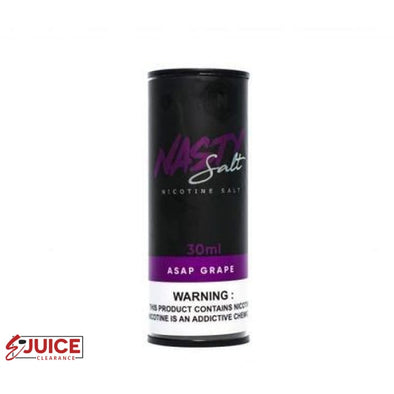 ASAP Grape Salt - Nasty 30ml - E-Liquids | E-juice Clearance