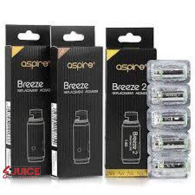 Aspire Breeze 2 U-Tech Replacement Coils - (5 Pack) - E-Liquids | E-juice Clearance