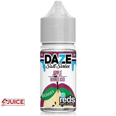 Berries Iced Reds Apple - 7 Daze Salt 30ml - E-Liquids | E-juice Clearance