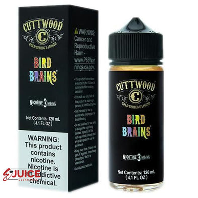 Bird Brains - Cuttwood 120ml - E-Liquids | E-juice Clearance