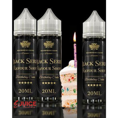 Birthday Cake - Kilo Black Series 60ml - E-Liquids | E-juice Clearance