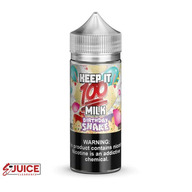 Birthday Shake - Keep It 100 E-Juice 100ml - E-Liquids | E-juice Clearance