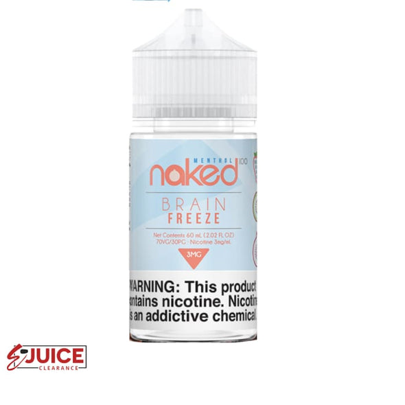 Brain Freeze - Naked 100 Menthol 60ml - E-Liquids | E-juice Clearance
