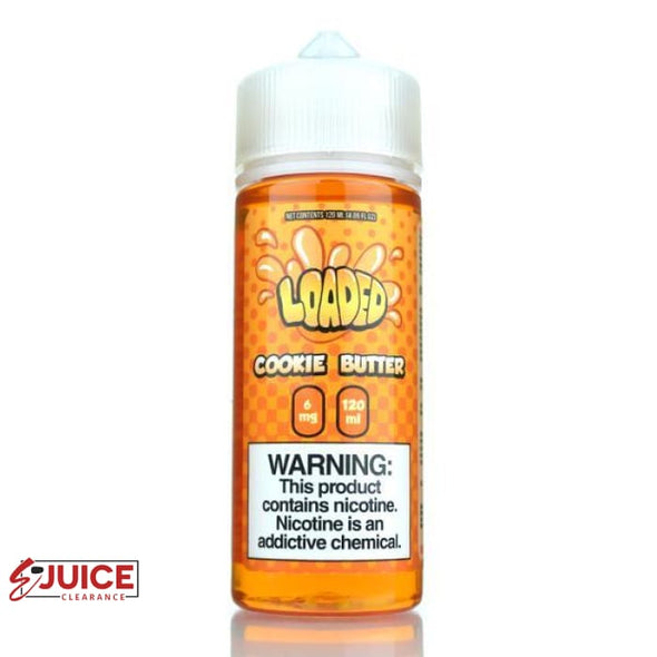 Cookie Butter - Loaded E-Liquid 120ml - E-Liquids | E-juice Clearance