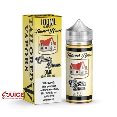 Cookie Dream - Tailored House 100ml - E-Liquids | E-juice Clearance