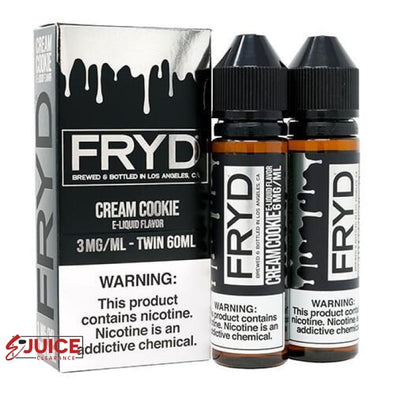Cookies and Cream - FRYD Liquids 120ml - E-Liquids | E-juice Clearance
