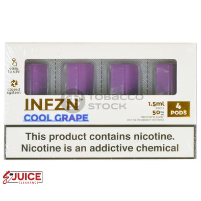Cool Grape by INFZN (4 Pack) - E-Liquids | E-juice Clearance