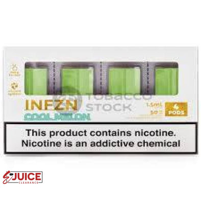 Cool Melon Pods by INFZN (4 Pack) - E-Liquids | E-juice Clearance