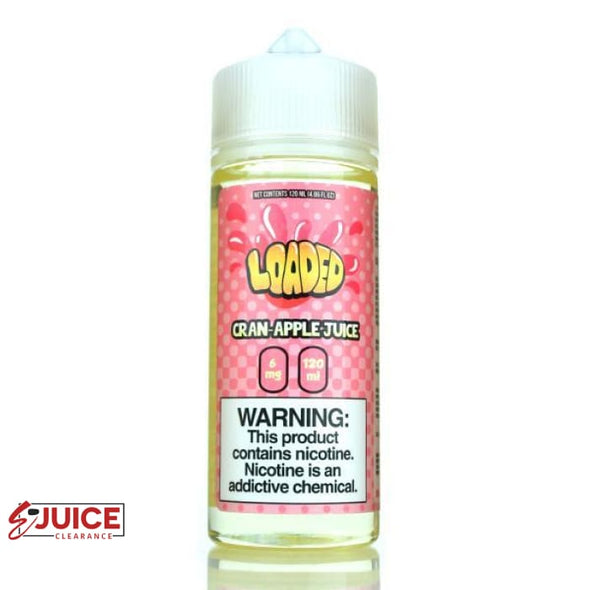 Cran Apple - Loaded E-Liquid 120ml - E-Liquids | E-juice Clearance