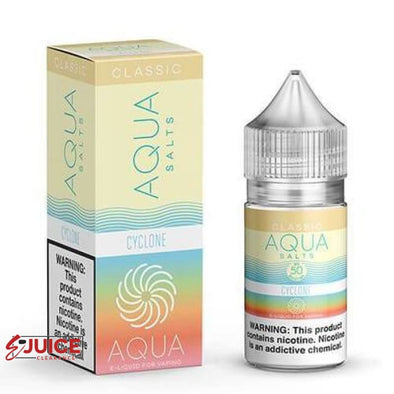 Cyclone - AQUA Classic E-Juice Salts 30ml - E-Liquids | E-juice Clearance