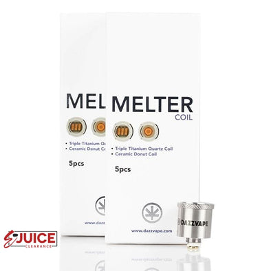 DAZZVAPE Melter Replacement Coils - (5 Pack) - E-Liquids | E-juice Clearance