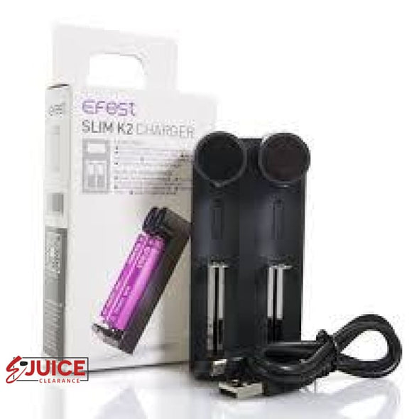 Efest Slim K2 Battery Charger - E-Liquids | E-juice Clearance