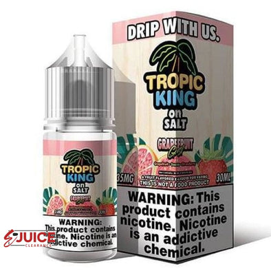 Grapefruit Gust - Tropic King on Salt 30ml - E-Liquids | E-juice Clearance