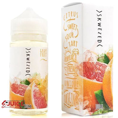 Grapefruit - SKWEZED E-Juice 100ml - E-Liquids | E-juice Clearance