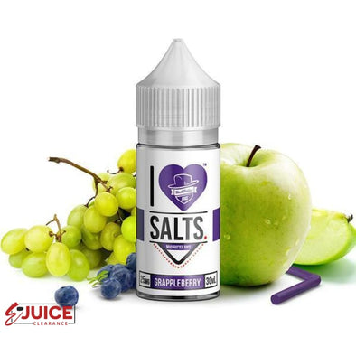 Grappleberry - I Love Salts 30ml - E-Liquids | E-juice Clearance