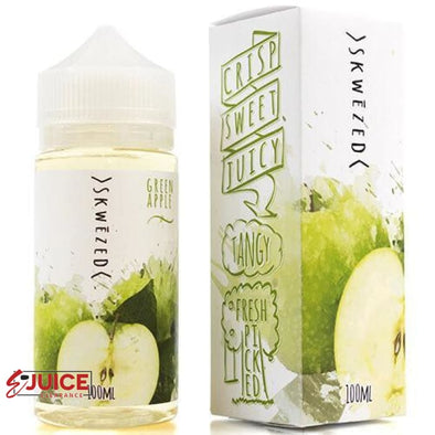 Green Apple - SKWEZED E-Juice 100ml - E-Liquids | E-juice Clearance