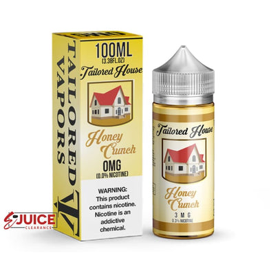 Honey Crunch - Tailored House 100ml - E-Liquids | E-juice Clearance