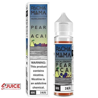 Huckleberry Pear Acai - Pachamama 60ml - E-Liquids | E-juice Clearance
