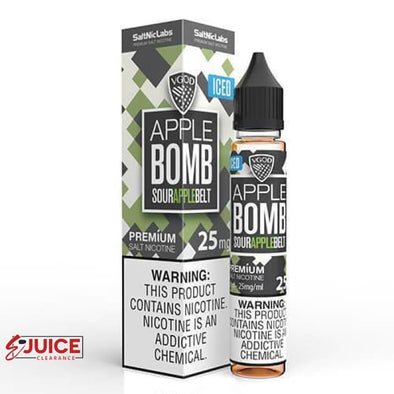 Iced Apple Bomb - VGOD SaltNic 30ml - E-Liquids | E-juice Clearance