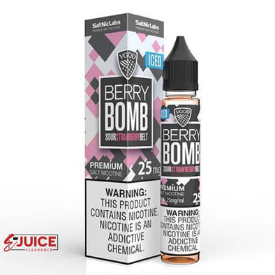 Iced Berry Bomb - VGOD SaltNic 30ml - E-Liquids | E-juice Clearance