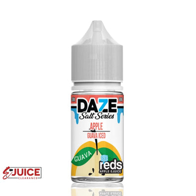 Iced Guava - 7 Daze Salt 30ml - E-Liquids | E-juice Clearance