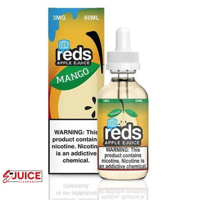 Iced Mango Apple - Reds Apple E-Juice 60ml - E-Liquids | E-juice Clearance